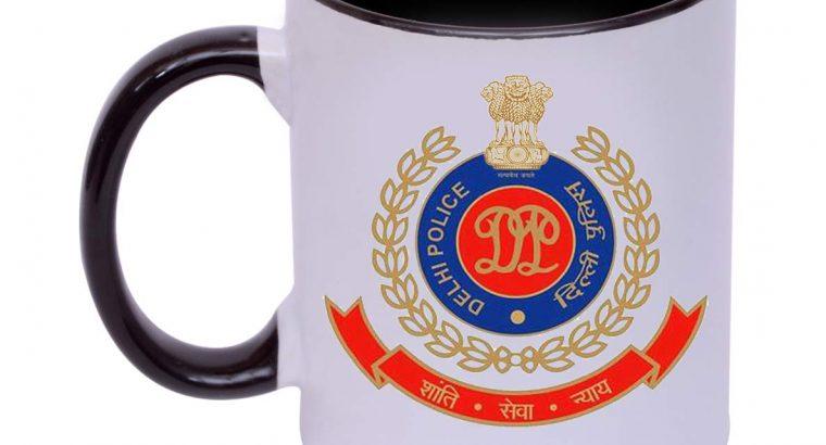 Delhi Police Printed Coffee Mug